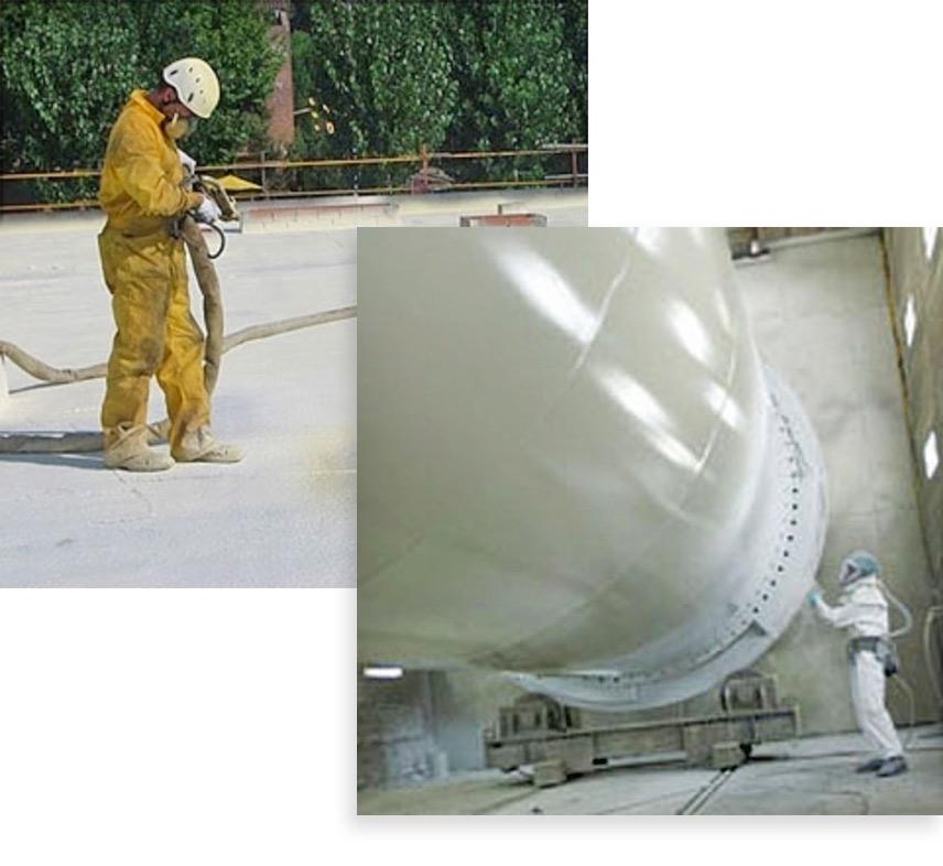 aplicacion de poliuretano